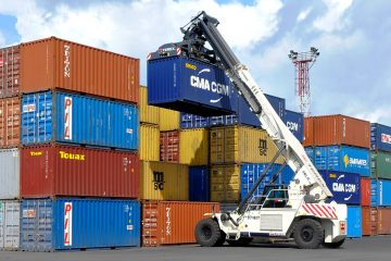 Inland container terminal operation
