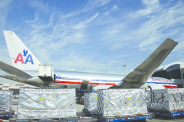 Airfreight handling, both perishable and dry cargo